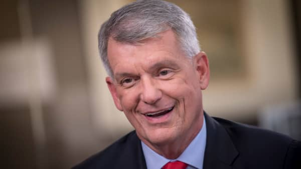 Watch CNBC's full interview with Wells Fargo CEO Tim Sloan at Hudson Yards