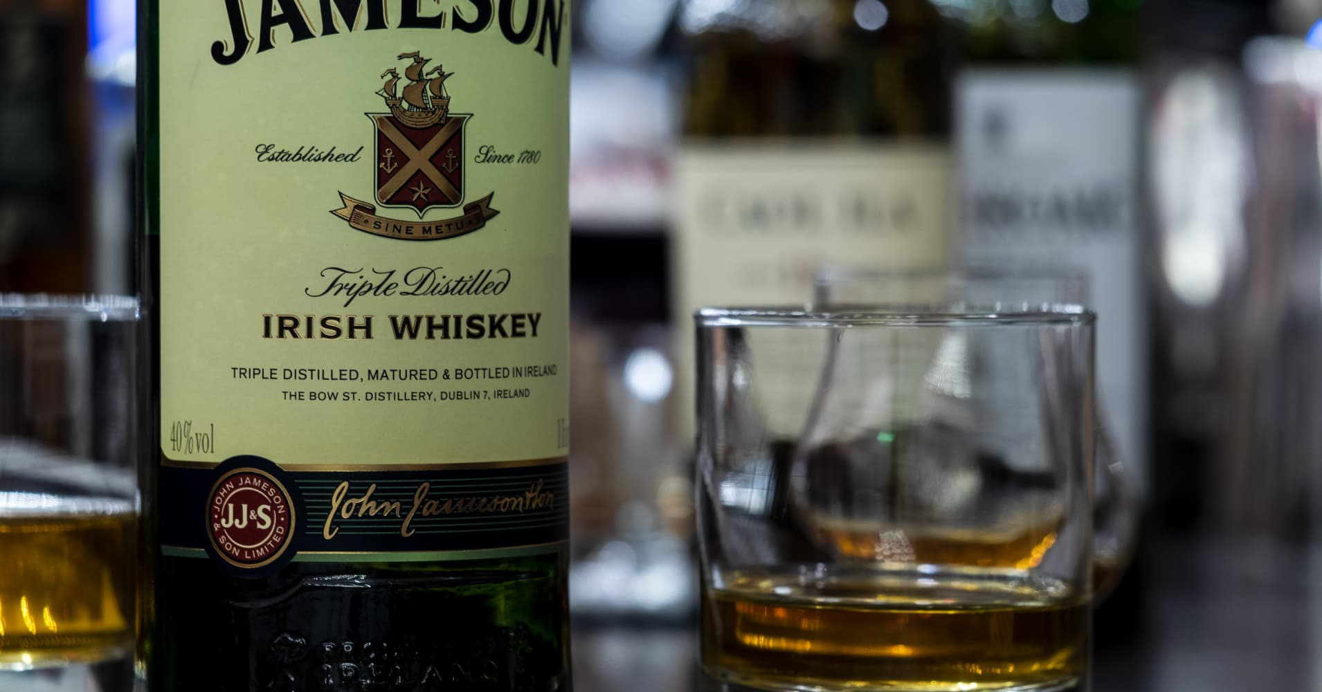 Irish whiskey continues to thrive in the US, thanks to millennials