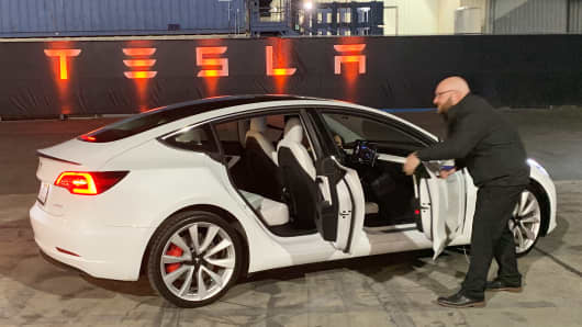 The new Tesla Model Y is introduced. Tesla has expanded its model range to  include