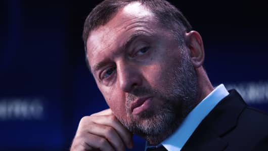 Oleg Deripaska, Russian billionaire and president of United Co. Rusal.