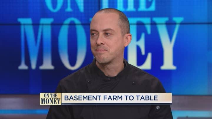 Basement farm to table