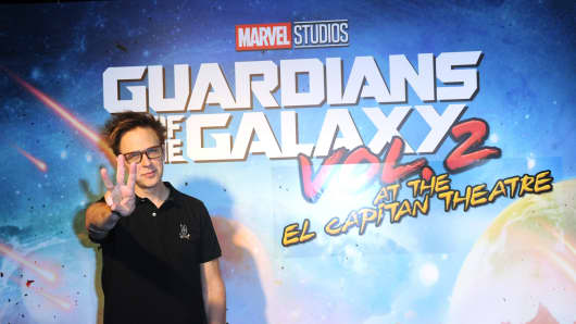 Director James Gunn at the El Capitan Theatre Hosts Screening Of Disney And Marvel Studios' 'Guardians Of The Galaxy Vol. 2' held at El Capitan Theatre on May 4, 2017 in Los Angeles, California.