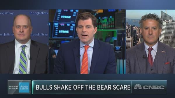 Bulls shake off the bear scare