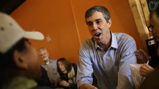 Beto O'Rourke received backing from big tech in 2018 – that could be a blessing and a curse for 2020