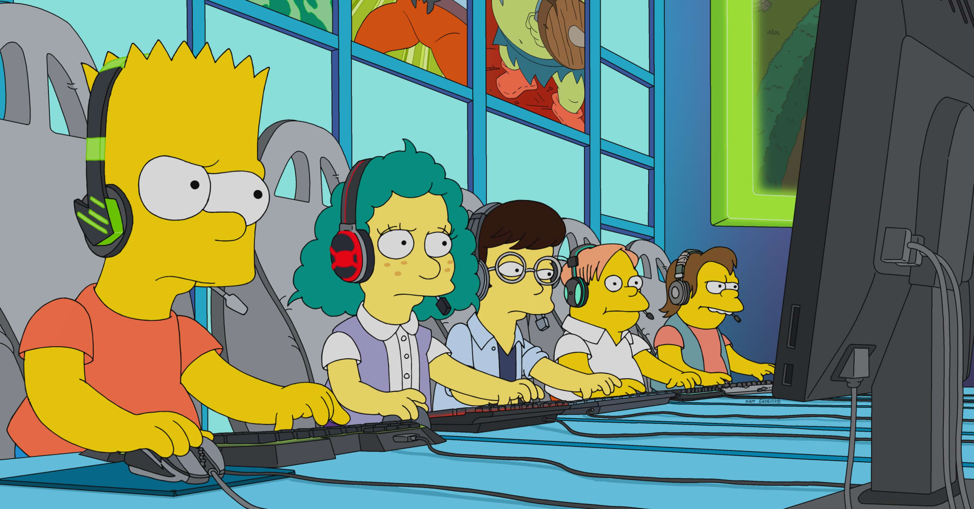 cnbc.com - Annie Pei - Esports just made its way onto 'The Simpsons' - here's why that matters