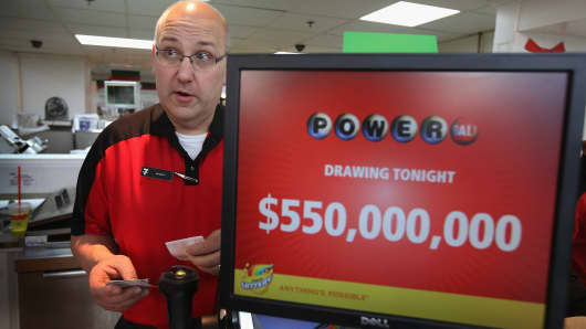 Powerball's jackpot surges to $550 million  Here's what the winner