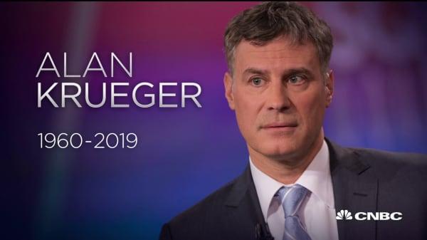 Economist Alan Krueger dies at 58