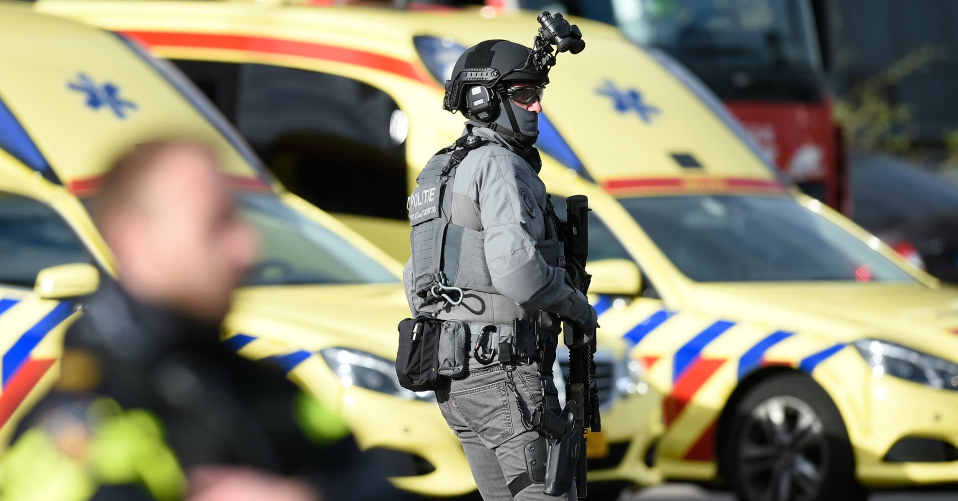 Suspect arrested in shooting that leaves at least 3 dead in Dutch city of Utrecht