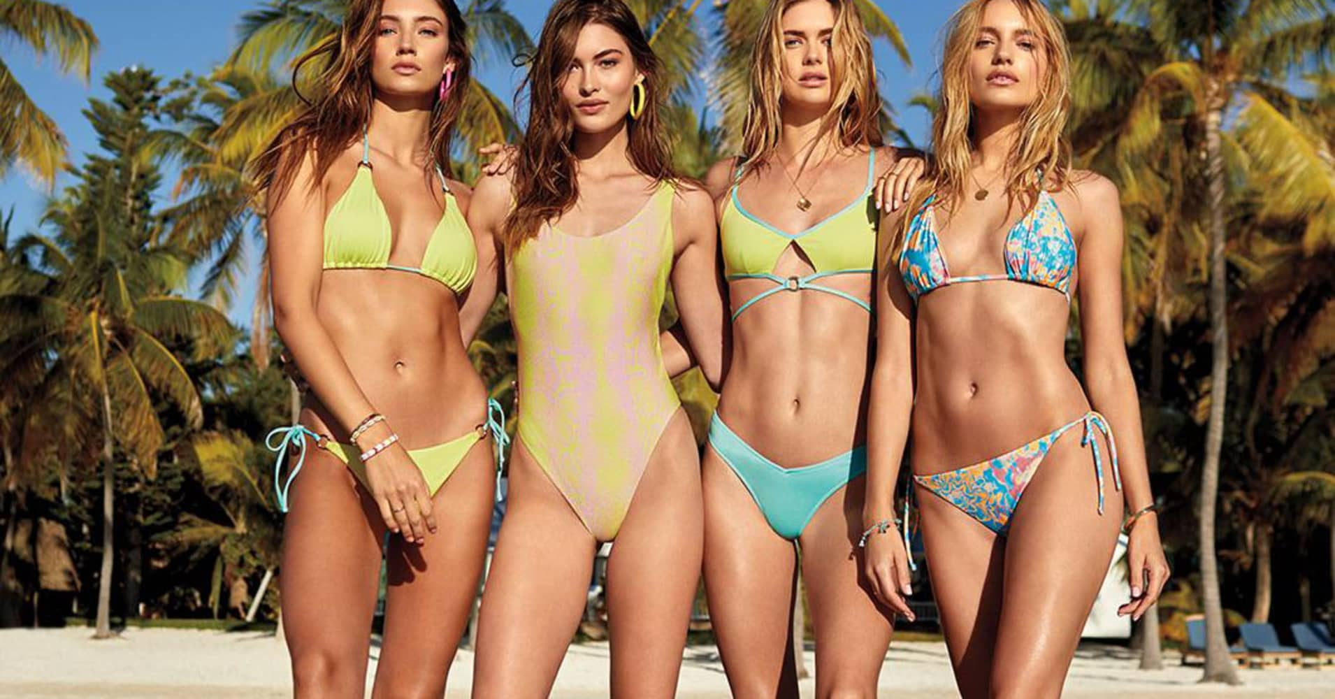 5c8838369 Bathing suits are back at Victoria s Secret
