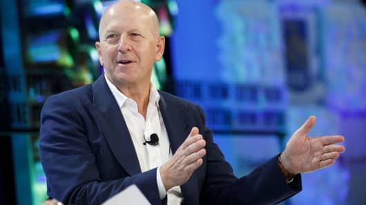 David Solomon, chief executive officer of Goldman Sachs.