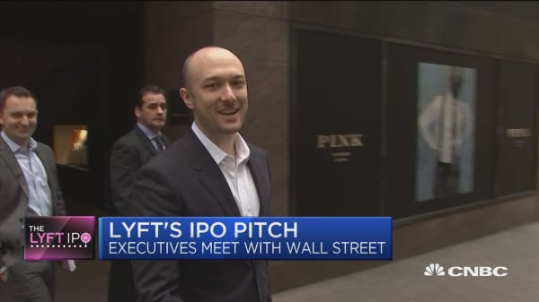 Lyft's pitch to investors ahead of IPO: founder-led and strong brand