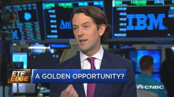 Here's how to play gold using ETFs
