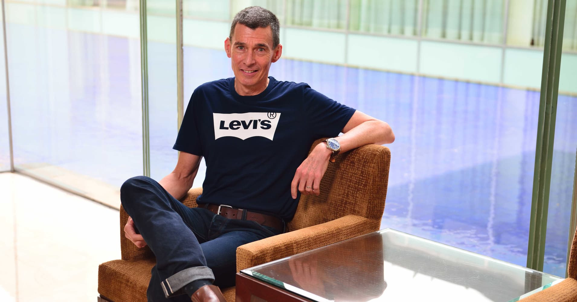 Levi Strauss shares surge, as jean giant makes return to the public market