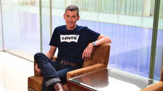 Chip Bergh, the president and CEO of Levi Strauss & Co.