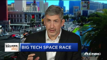 OneWeb CEO Adrian Steckel on big tech's space race