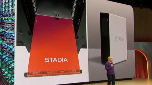 Google Stadia server hardware