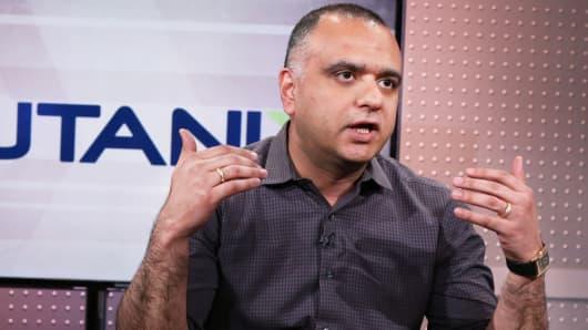 Dheeraj Pandey, CEO, Nutanix