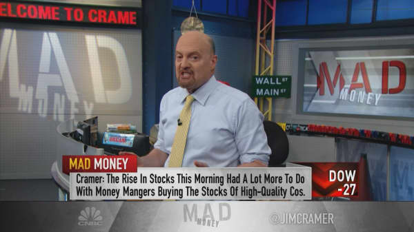 Investors taking a 'leap of taste,' says Cramer