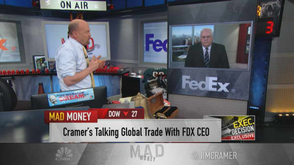 FedEx CEO: We see 'green sprouts' in the international market and optimistic about FY20