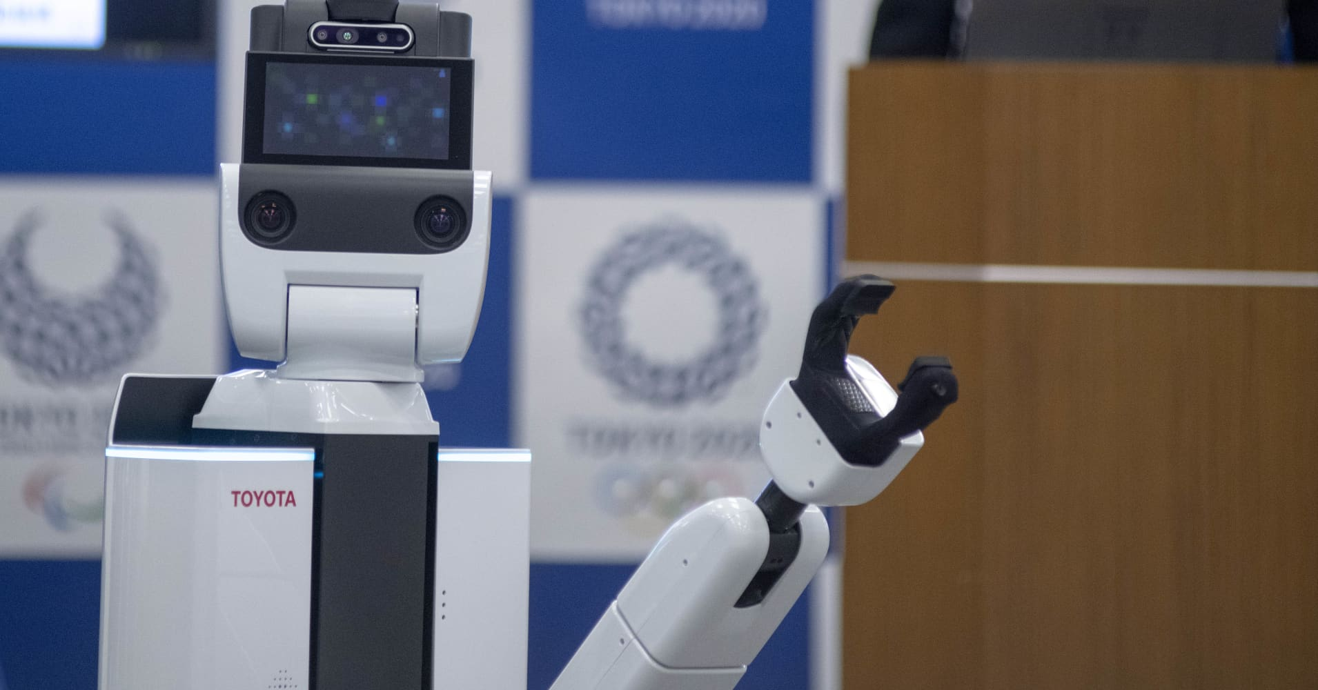 Robots built by Toyota are going to help visitors at the Tokyo 2020 Olympics