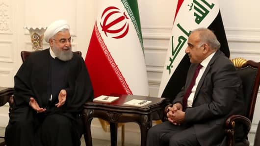 Iran just struck a hoard of deals with Iraq, and Washington isn't happy