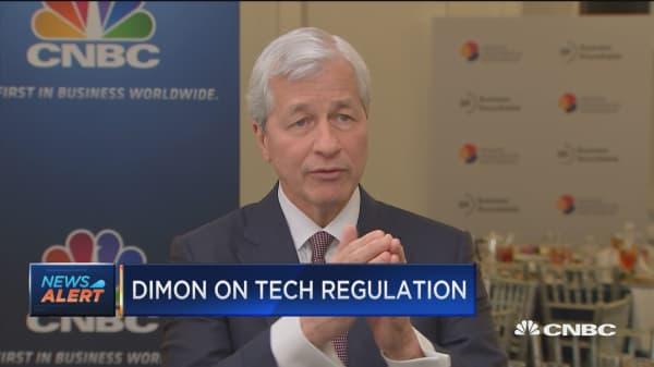 Jamie Dimon: Tech CEOs should prepare for the full monty