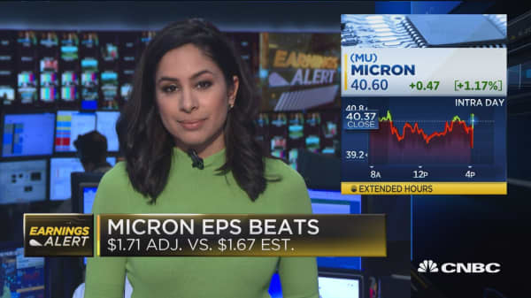 Micron beats second quarter revenue expectations