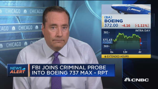 FBI joins criminal probe into Boeing 737 Max