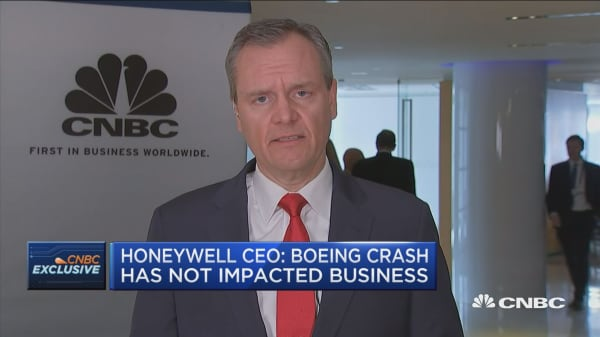 Honeywell CEO Darius Adamczyk: Business environment relatively strong