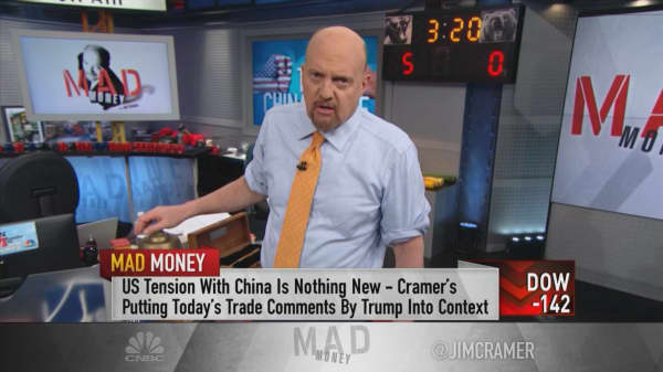 Cramer: U.S.-China trade talks is now more about a 'trust gap' than the 'trade gap'
