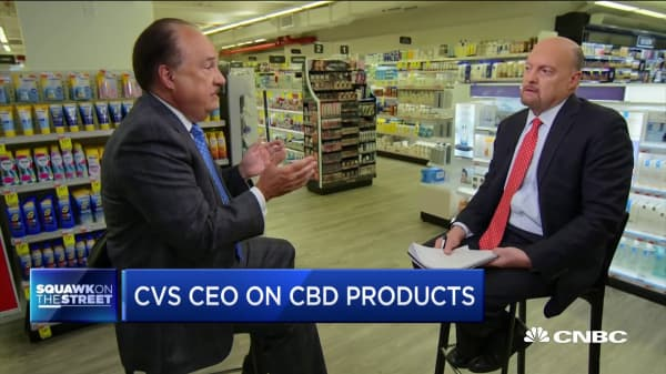 CVS CEO explains why the company decided to sell CBD products in select stores