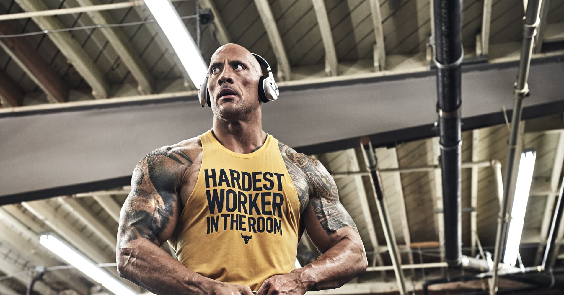 Dwayne Johnson Just Dropped His Latest Project Rock Ad