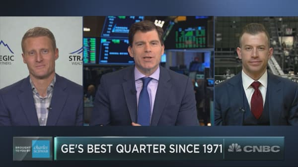 GE is having its best quarter in five decades