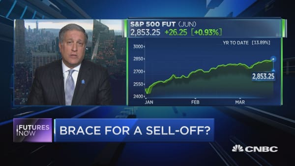 Market is vulnerable to a sell-off, but Wall Street bull Phil Orlando says that shouldn't scare off investors