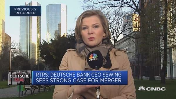 Deutsche Bank and Commerzbank in merger talks