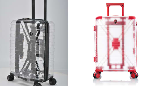 See-through luggage for those with nothing to hide