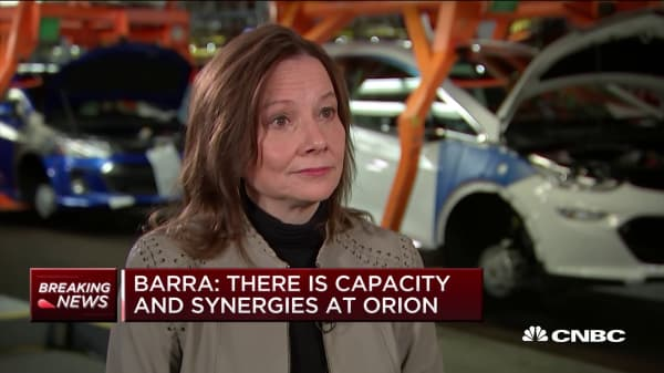 GM to build electric vehicle in U.S. plant, add 700 jobs