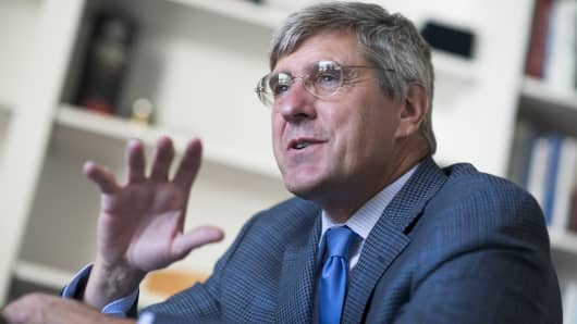 Stephen Moore, visiting fellow at the Heritage Foundation.