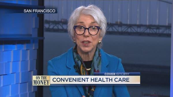 CVS unveils health hub model