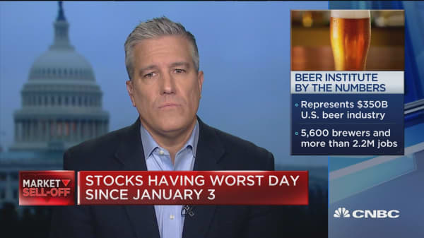 Brewers of all sizes are being hurt by aluminium tariffs, The Beer Institute CEO says