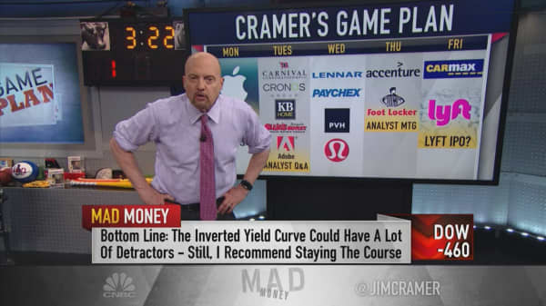 Cramer's game plan to ride through 'troubled waters'