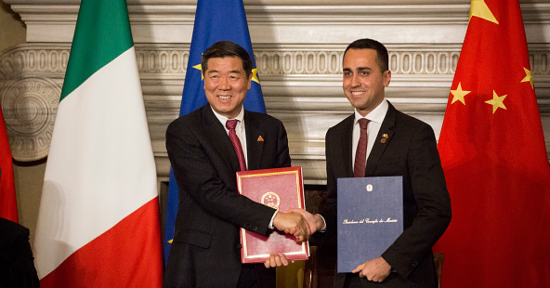 Italy Di Maio first EU country to join China Belt and Road initiative