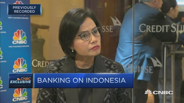 Indonesian public debt is being used as 'political rhetoric': Finance minister