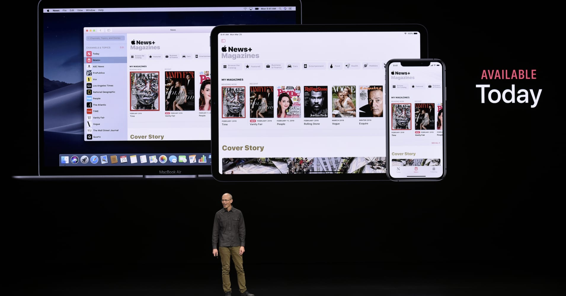 Apple's first new services product, Apple News+ suffers brief outages on its first day