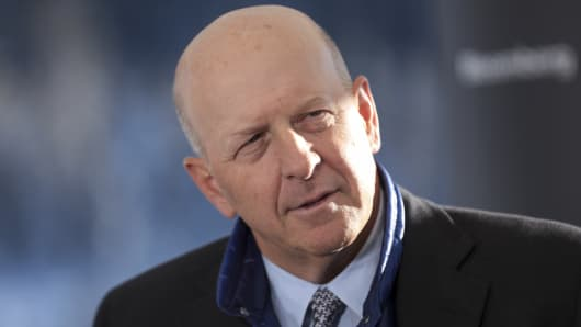 David Solomon, chief executive officer of Goldman Sachs & Co.