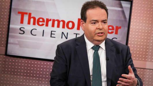 Marc Casper, CEO of Thermo Fisher
