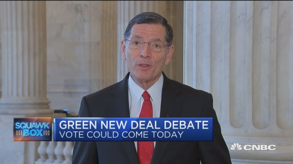 Sen. John Barrasso explains why the GOP is putting the Green New Deal up for a vote