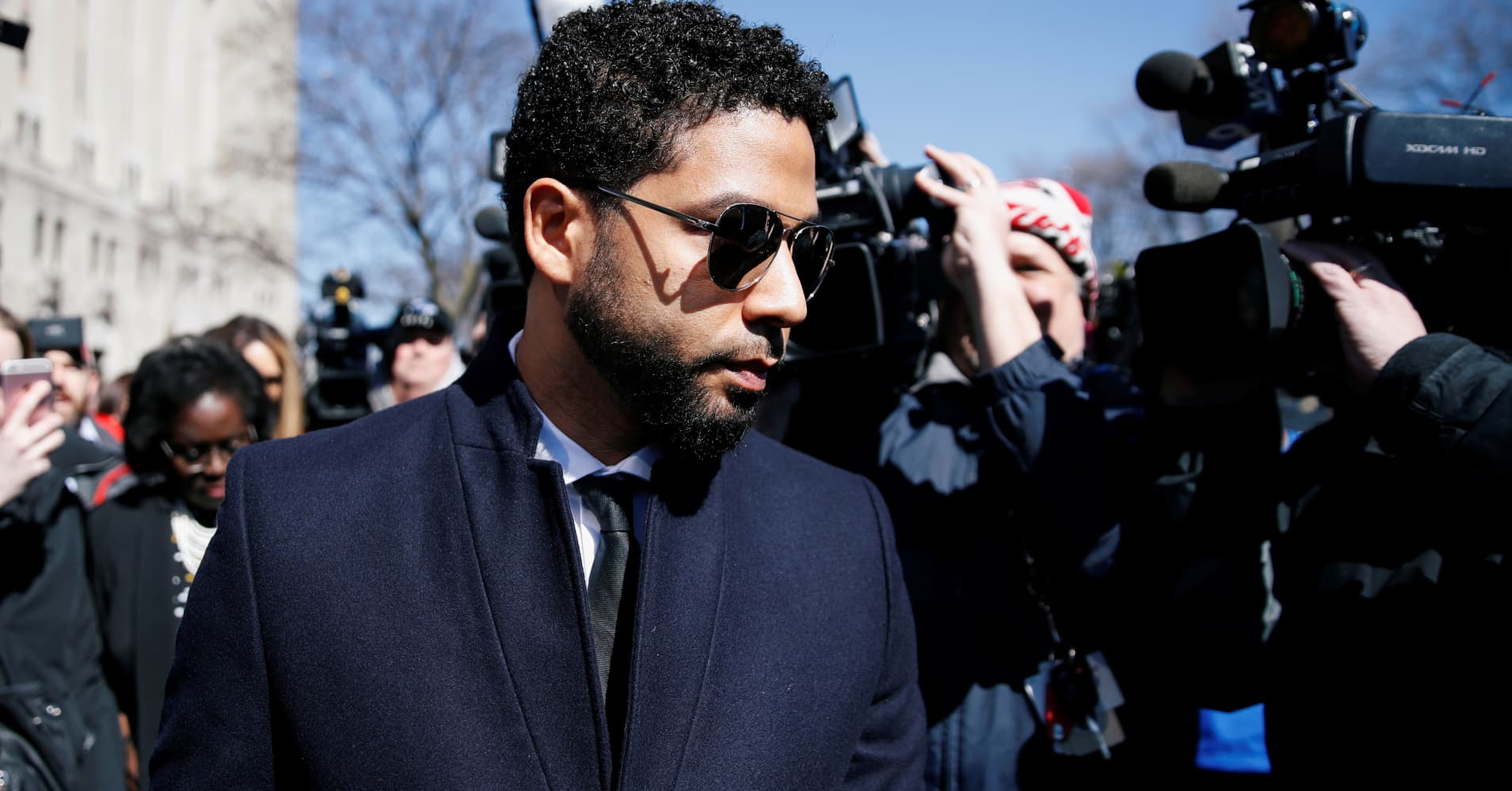 Charges against 'Empire' actor Jussie Smollett dropped