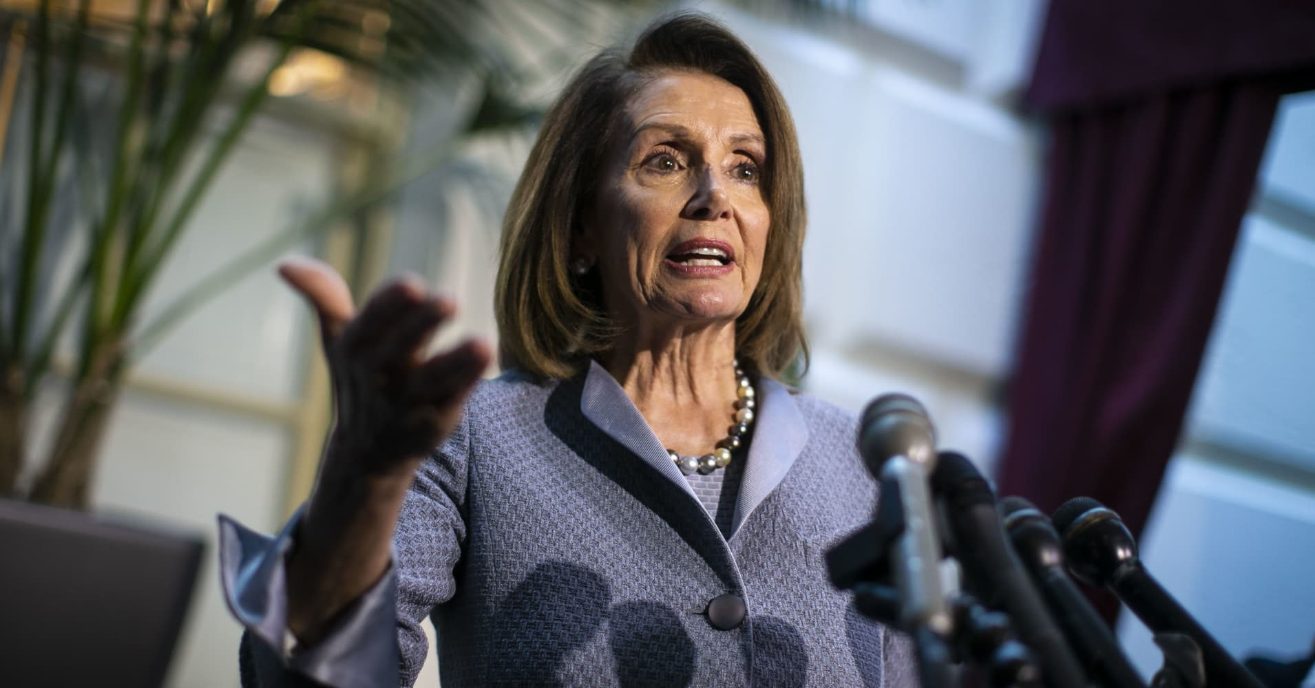 Pelosi: Trump's tweets have 'cheapened the presidency'