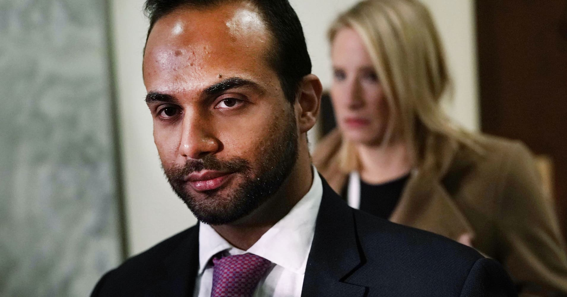 Former Trump campaign aide George Papadopoulos asked the president for a pardon
